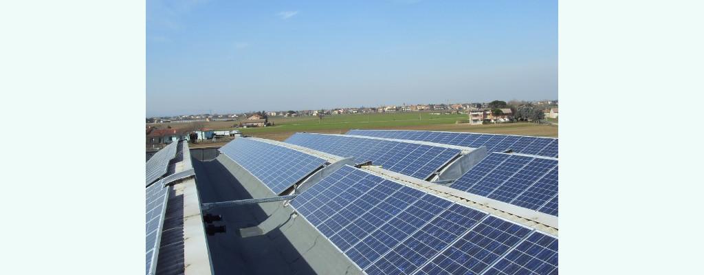 impianto fotovoltaico azienda editoriale