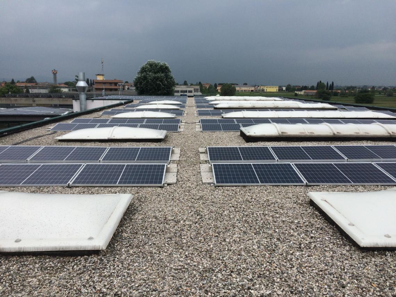 Impianto fotovoltaico MPC Cesena