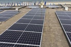 Impianto Fotovoltaico Bagno Ventaglio Punta Marina